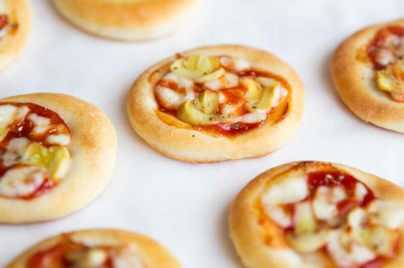 Mini Pizzas - With Homemade Pizza Crust
