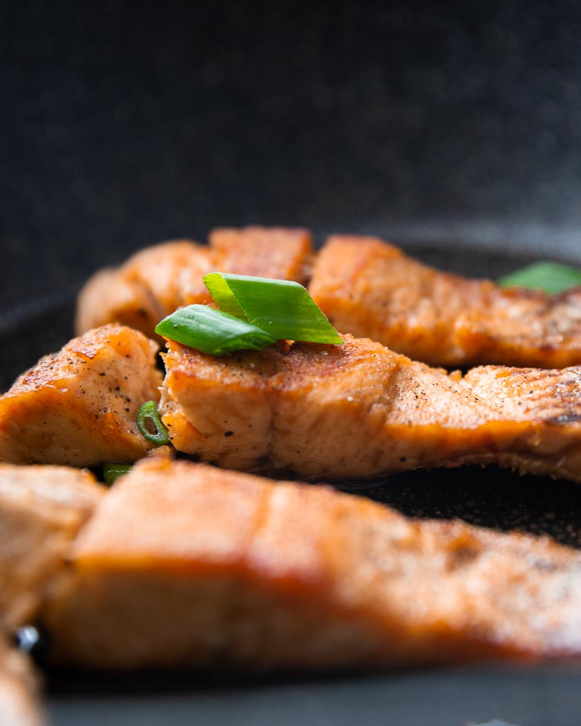 mediterranean pan seared salmon