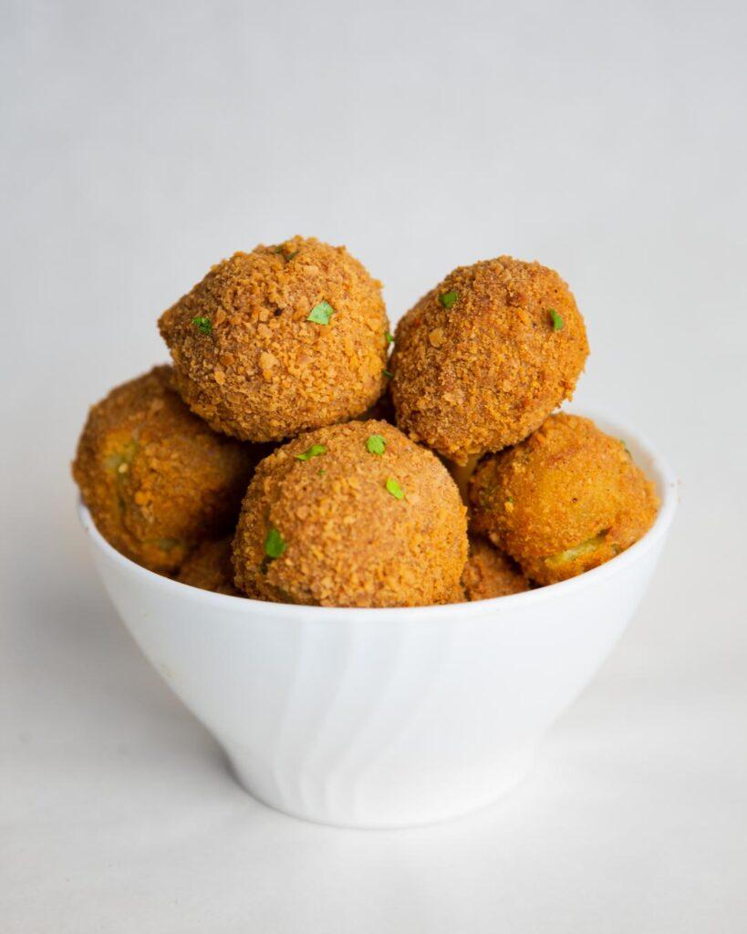 leftover baked mashed potato balls