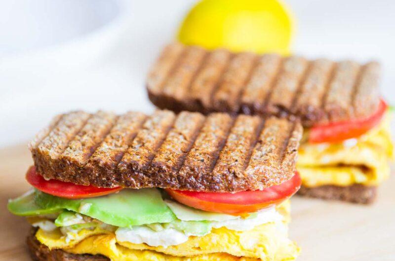 Breakfast Avocado Egg Sandwich
