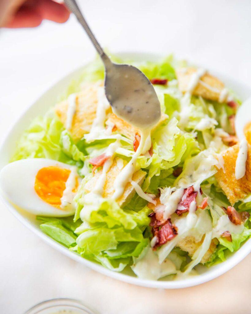chicken caesar salad dressing