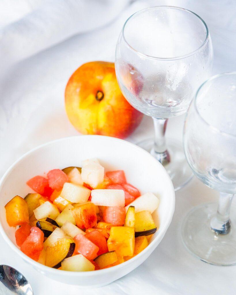 fresh summer fruit salad