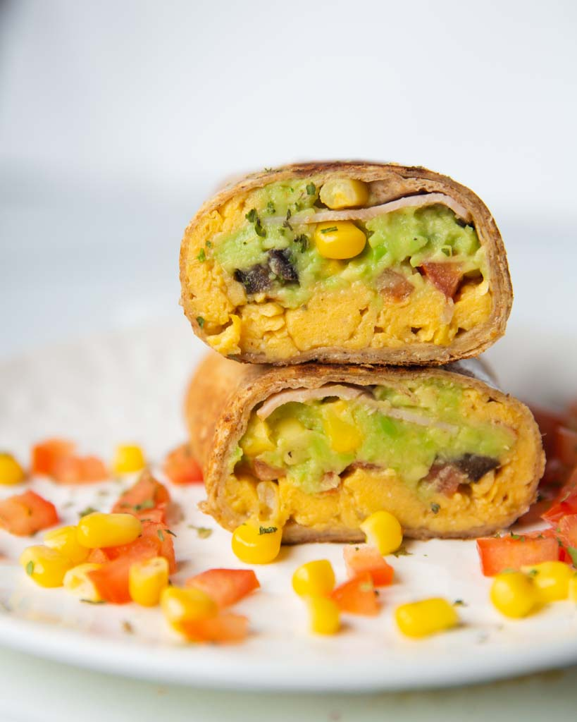egg breakfast burritos