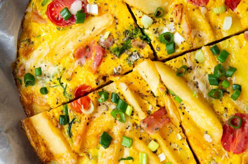 Oven-Baked Easy Potato Frittata