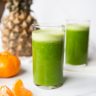 spinach pineapple smoothie