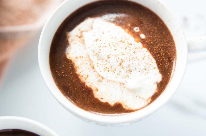 Boozy Baileys Hot Chocolate Recipe
